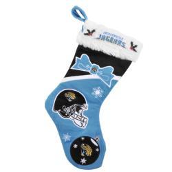 Jacksonville Jaguars Polyester Christmas Stocking - Thumbnail 2