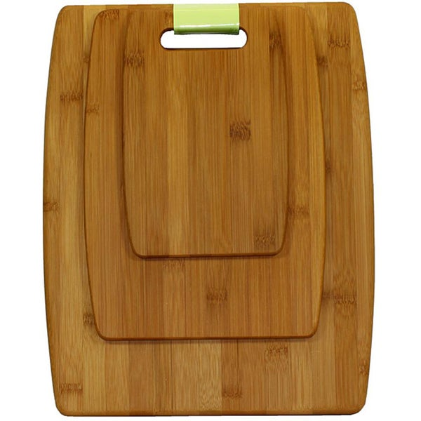 Oceanstar Lightweight Bamboo Cutting Board Set (Set of 3)
