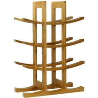 Pine Canopy Lolo 12-bottle Natural Bamboo Wine Rack