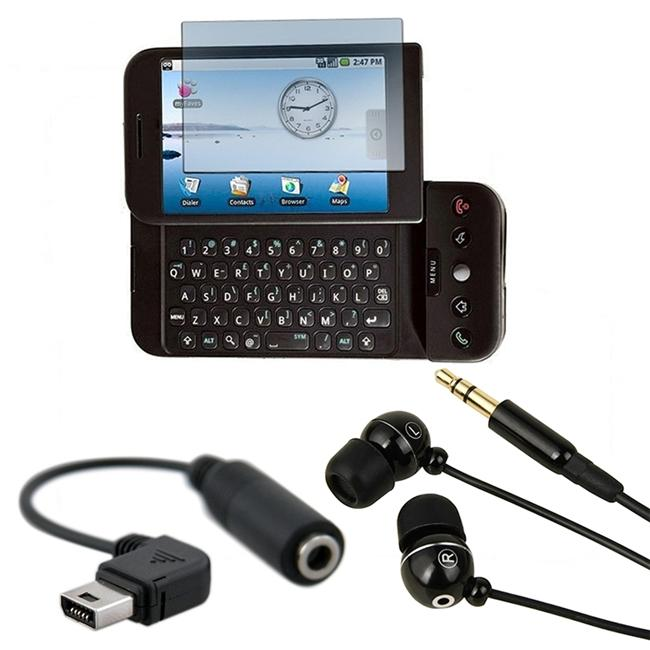 INSTEN 3-piece Combo Kit for HTC T-mobile G1