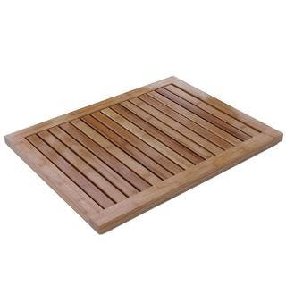 Oceanstar Bamboo Floor or Outdoor Mat|https://ak1.ostkcdn.com/images/products/5333061/P13137406.jpg?impolicy=medium
