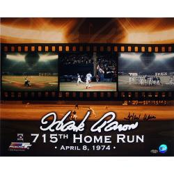 Steiner Sports Hank Aaron 715 Collage 16x20 Photograph