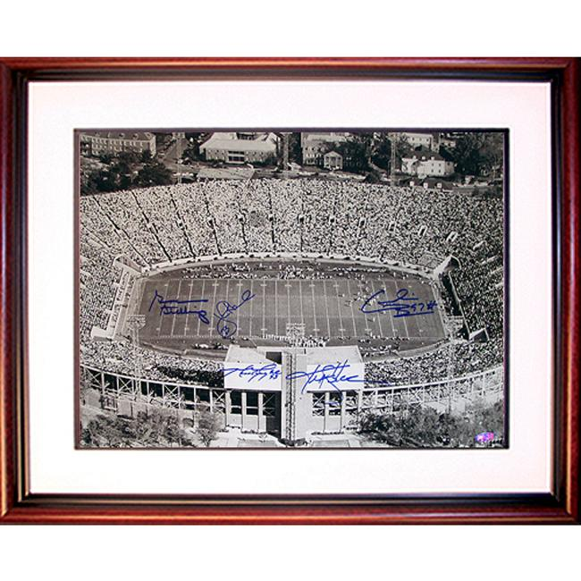 Steiner Sports Alabama Legends Multi Signed Stadium Photograph - Thumbnail 0