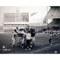 Steiner Sports Yogi Berra Celebration w/ Team Autographed Photo Ken Regan Autograph