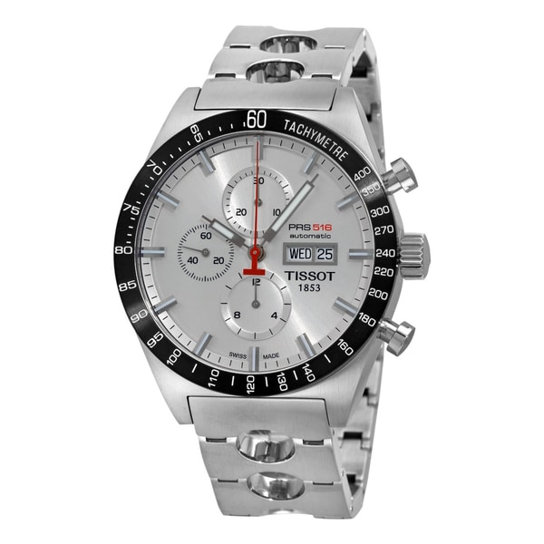 Tissot Men's 'T-Sport PRS 516' Steel Automatic Chronograph Watch
