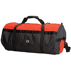Stansport Red/ Black Mesh 30-inch Top Roll Bag - Thumbnail 0