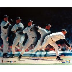 Steiner Sports Roger Clemens Yankees Multi-Exposure Photograph
