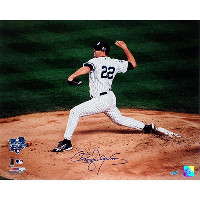 Steiner Sports Roger Clemens Yankees Subway Series Autographed  Photo