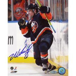 Steiner Sports Official Mike Comrie Autographed Photo - Thumbnail 0