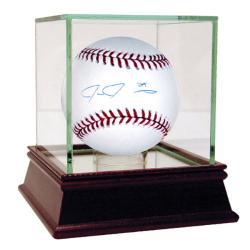 Steiner Sports Ike Davis Autographed MLB Baseball - Thumbnail 0