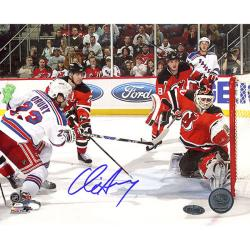 Steiner Sports Chris Drury Game Tying Goal vs Devils Photograph