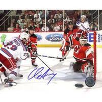 Steiner Sports Chris Drury Game Tying Goal vs Devils Photograph