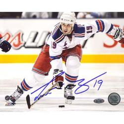 Steiner Sports Scott Gomez 'Carrying Puck Up Ice' 16x20 Photograph