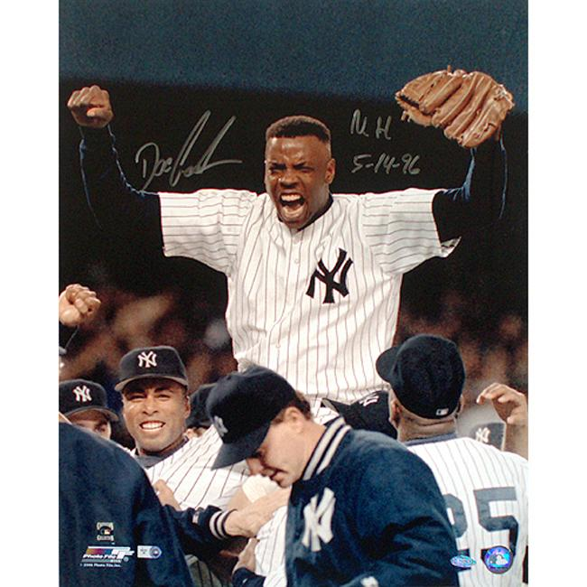 Steiner Sports Dwight Gooden Signed Yankees No Hitter 16x20 Photograph w/ Inscription