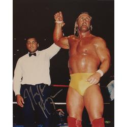 Steiner Sports Hulk Hogan With Ali 16x20 Autographed Photo