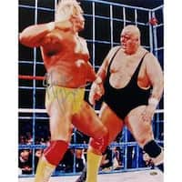 Steiner Sports Hulk Hogan With King Kong Bundy 16x20-inch Photograph