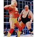Steiner Sports Hulk Hogan With King Kong Bundy 16x20-inch Photograph