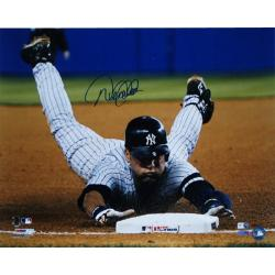Steiner Sports Derek Jeter Slide Into Third Photograph
