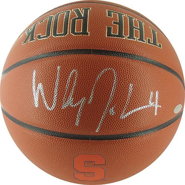Steiner Sports Wesley Johnson Syracuse 'The Rock' Basketball