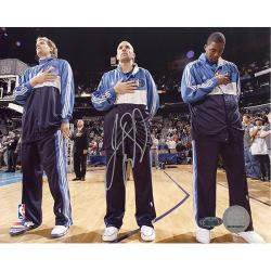 Steiner Sports Jason Kidd First Game Back with Mavericks National Anthem 16x20 Photograph