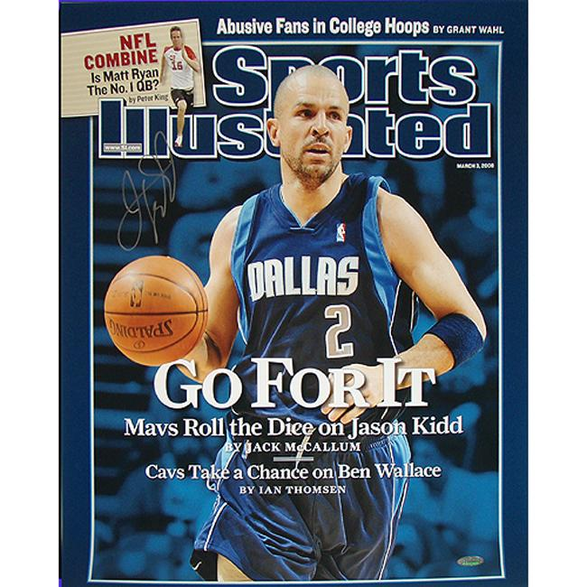 Steiner Sports Jason Kidd Mavericks 'Go For It' Sports Illustrated Cover 16x20 Photograph
