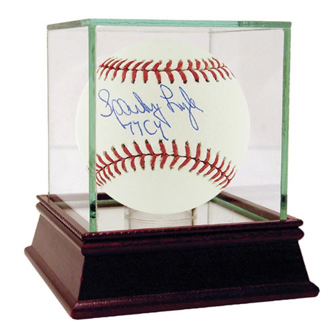 Steiner Sports Sparky Lyle Autographed MLB Baseball w/ '77 Cy' Inscription