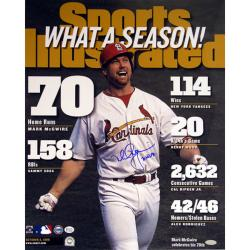 Steiner Sports Mark McGwire 70 HR SI Cover