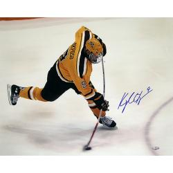 Steiner Sports Kyle Okposo University of Minnesota Bent Stick Slap Shot 16x20 Photograph