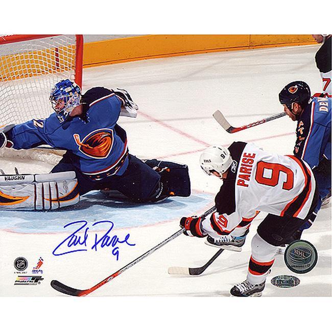 Steiner Sports Zach Parise Goal vs Thrashers 16x20 Photograph