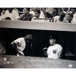 Steiner Sports Ken Regan Signed Yogi Berra w/ Elston Howard in Dugout 16x20 Photograph