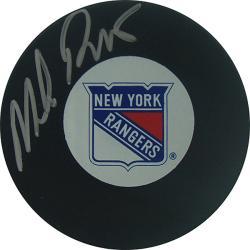 Steiner Sports Mike Richter New York Rangers Autograph Hockey Puck