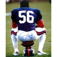 New York Giants Lawrence Taylor Autographed Photo