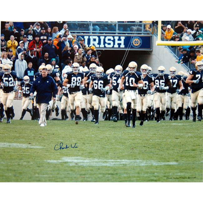 Steiner Sports Charlie Weis Photograph - Thumbnail 0