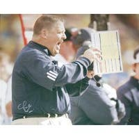 Steiner Sports Charlie Weis Collectible Autographed Photo