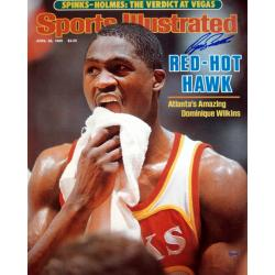 Steiner Sports Dominique Wilkins Sports Illustrated Cover - Thumbnail 0