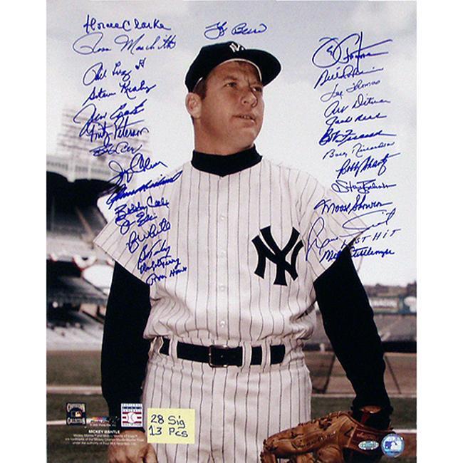 Steiner Sports Mickey Mantle Photograph