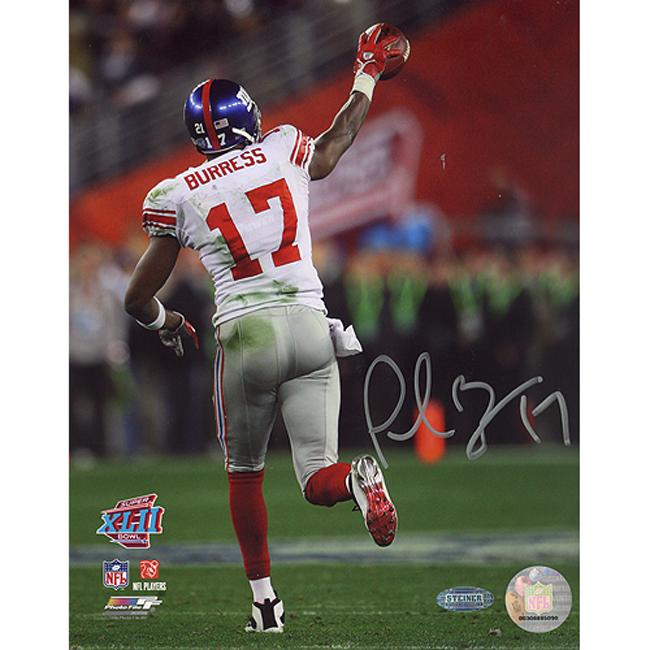 New York Giants Plaxico Burress Autographed Photo