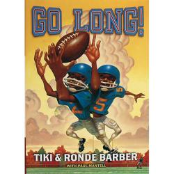 Steiner Sports 'Go Long!' By Tiki and Ronde Barber Book - Thumbnail 0