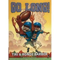 Steiner Sports 'Go Long!' By Tiki and Ronde Barber Book