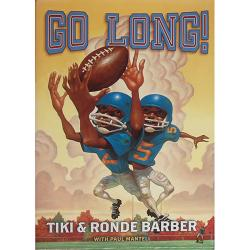 Steiner Sports Signed 'Go Long!' Book By Tiki and Ronde Barber