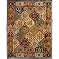 Safavieh Handmade Heritage Traditional Bakhtiari Multi/ Red Wool Rug - 12' x 15'
