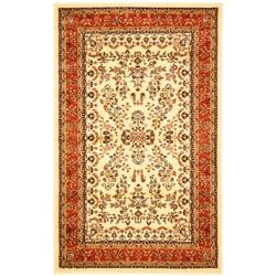 Safavieh Lyndhurst Traditional Oriental Ivory/ Rust Rug (5' 3 x 7' 6) - Thumbnail 0