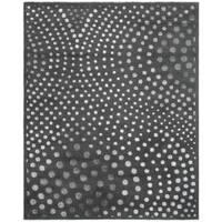 Safavieh Handmade Soho Abstract Wave Dark Grey Wool Rug - 6' x 9'