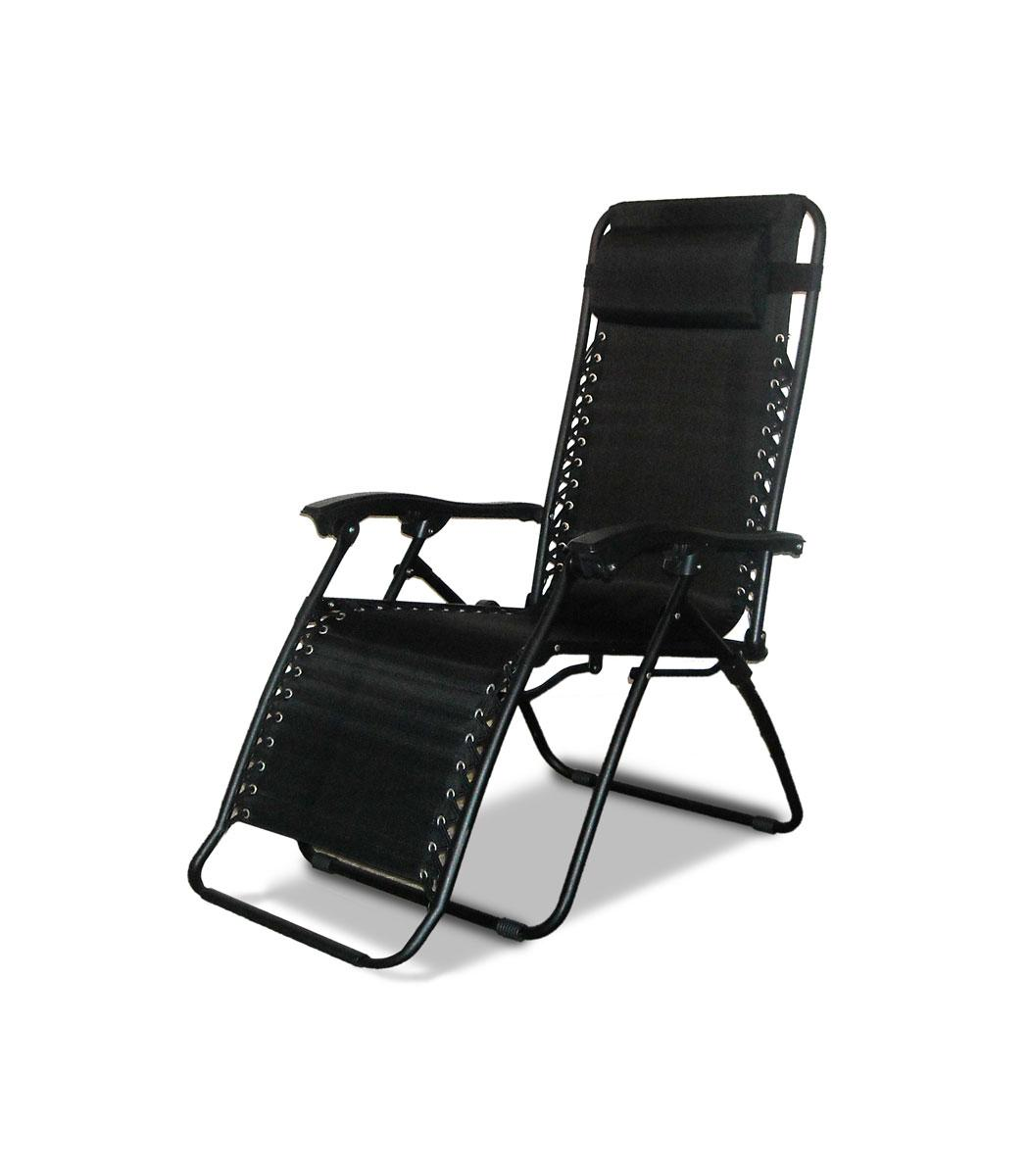 Caravan Canopy Black Zero-Gravity Chair
