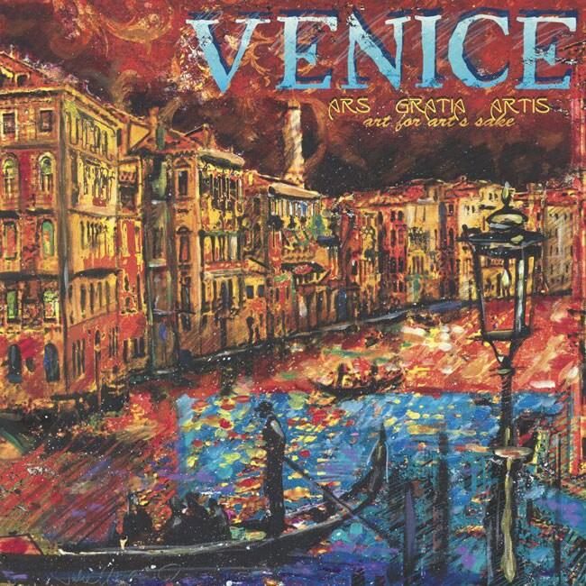 Julie Ueland 'Venice' Canvas Art