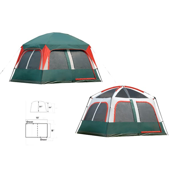 Prospect Rock 10x8 Family Tent