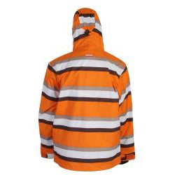 Sessions Men's Orange Ignition Snowboard Jacket - Thumbnail 1
