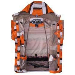 Sessions Men's Orange Ignition Snowboard Jacket - Thumbnail 2
