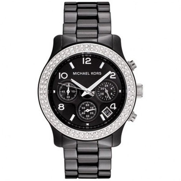 2901e0c1f294e Shop Michael Kors Women s Ceramic Chronograph Watch - Free Shipping ...