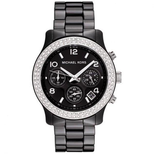 0ca0f9da6cdc Shop Michael Kors Women s Ceramic Chronograph Watch - Free Shipping ...
